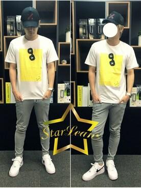 「StarLean スターリアン」公式通販サイト|StarLean運営さんの「スターリアン【公式】 SEVENクロス刺繍メッシュキャップ(StarLean)」を使ったコーディネート