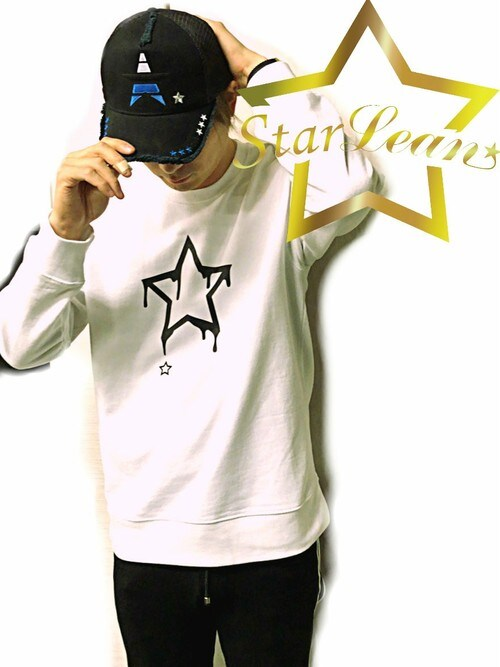 StarLean運営さんの「スターリアン【公式】cap 帽子 おしゃれ ロゴキャップ メンズ レディース ストリート 大人カジュアル 黒 秋 冬 MADE IN WORLDコラボメッシュキャップ(StarLean)」を使ったコーディネート