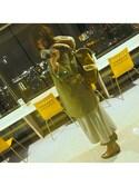 hirochaaaaanさんの「フェイクファームートンコート 728499(LEPSIM|レプシィム)」を使ったコーディネート