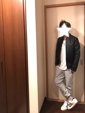 kobaさんの(adidas|アディダス)を使ったコーディネート