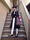 田口ジャワさんの「とってもカンバスなミニ原画たち㊤(Handmade|ハンドメイド)」を使ったコーディネート