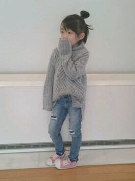 ❤Hinata❤さんの(韓国子供服)を使ったコーディネート