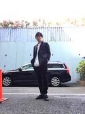 yutoさんの「LAD MUSICIAN[ラッドミュージシャン] BONDAGE PANTS(LAD MUSICIAN|ラッドミュージシャン)」を使ったコーディネート
