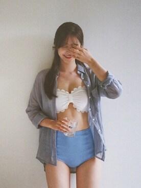 cherrykoko|CHERRYKOKO (チェリーココ)さんの「bruise, bikini(cherrykoko)」を使ったコーディネート