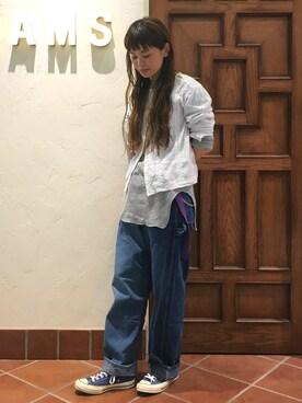 ビームス 吉祥寺|ASAMI OKANOさんの(BEAMS BOY|ビームスボーイ)を使ったコーディネート