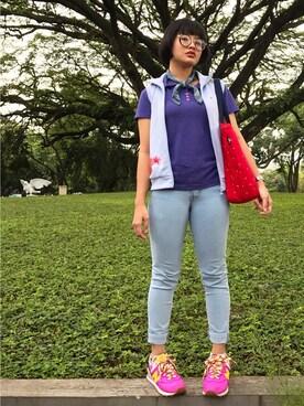 (adidas) using this Livia Meilani Chan looks