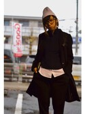 ainamecoさんの「PORTEFEUILLE LONG ZIPPE A16(A.P.C.|アー・ペー・セー)」を使ったコーディネート