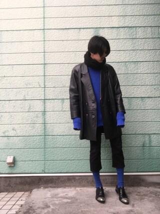「アゼアミニットクルー/530560(RAGEBLUE)」 using this RYONCHY looks