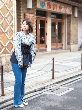 AMERICANRAGCIE(アメリカンラグシー)京都BAL店|maiko  uchiboriさんの(TOGA PULLA|トーガ プルラ)を使ったコーディネート