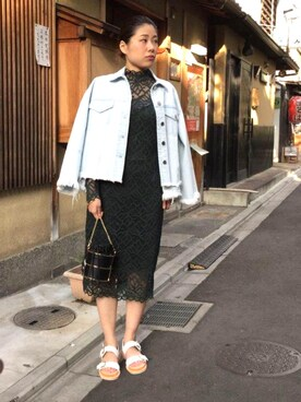 AMERICANRAGCIE(アメリカンラグシー)京都BAL店|maiko  uchiboriさんの(AMERICAN RAG CIE|アメリカンラグ シー)を使ったコーディネート