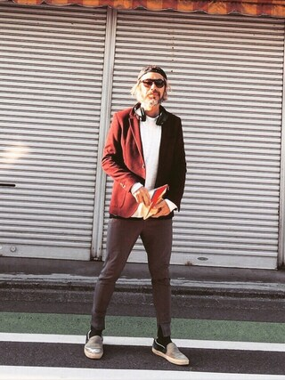 YosaKuginoさんの「L/S RAGLAN TEE(rag & bone|ラグアンドボーン)」を使ったコーディネート