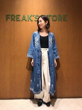 FREAKS STORE 池袋パルコ店|Kyoko Ozawaさんの(FREAK'S STORE|フリークスストア)を使ったコーディネート