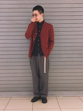 UNITED TOKYO MENS SHINJUKU|Atsushiさんのコーディネート