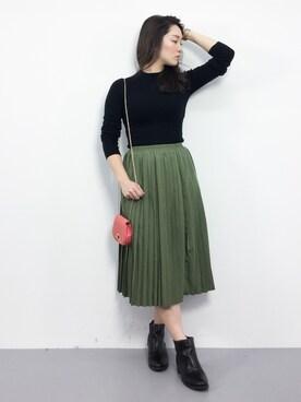 ZOZOTOWN 飯田有衣さんの(MURUA ムルーア)を使ったコーディネート