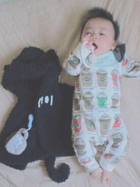 KIIさんの(韓国子供服)を使ったコーディネート