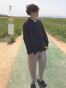 Shotaさんの(GUIONNET|ギオネ)を使ったコーディネート