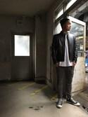 TAKEZOH NAKAMURAさんの「00S11I0SAQS(DIESEL|ディーゼル)」を使ったコーディネート