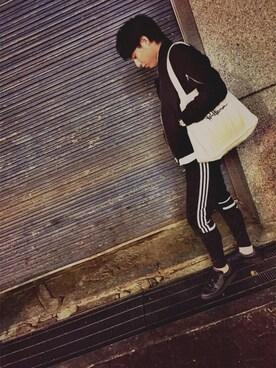 かずきさんの(adidas originals|アディダスオリジナルス)を使ったコーディネート