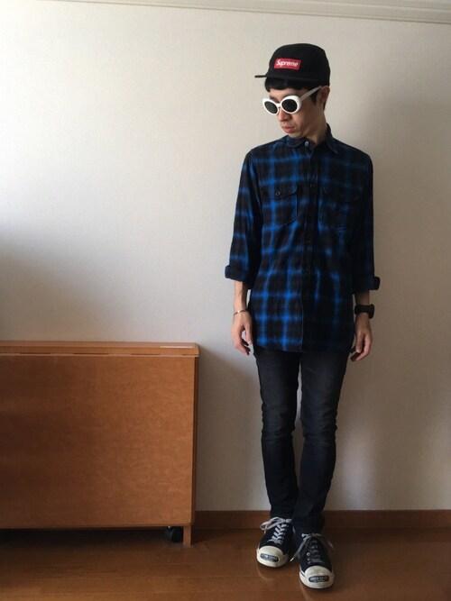 buy online 61a7c 29839 ドメ系のジャイアン|SAINT LAURENT PARISのシャツ・ブラウスを ...
