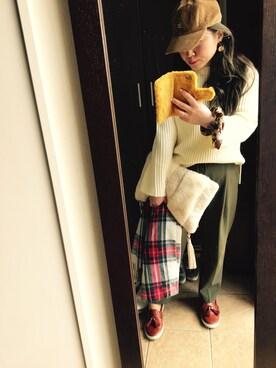 Hitomi Sekiguchiさんの(OZOC|オゾック)を使ったコーディネート