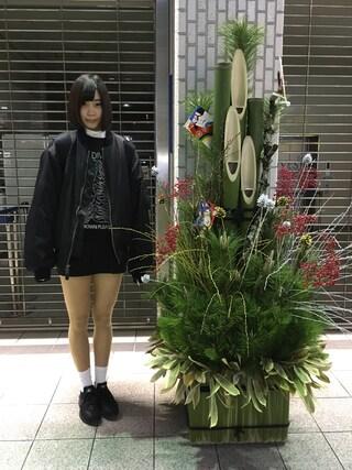 仮面女子さんの「NIKE / CLASSIC JUST DO IT(NIKE|ナイキ)」を使ったコーディネート
