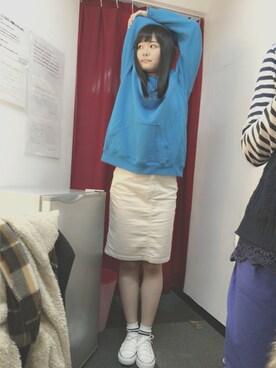 仮面女子さんの(UNIQLO|ユニクロ)を使ったコーディネート