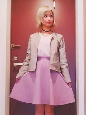 仮面女子さんの「フレアスカート(PAGEBOY|ページボーイ)」を使ったコーディネート