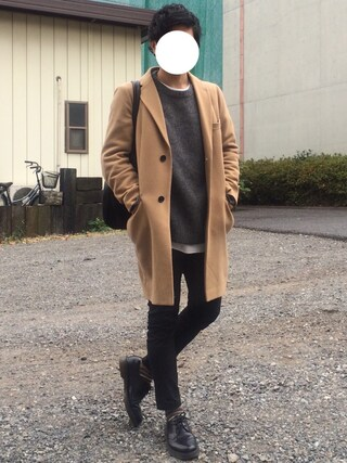 「BY ∴ メルトン チェスター コート ◇(BEAUTY&YOUTH UNITED ARROWS)」 using this Hi-de looks