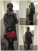 Toshiaki Nakamuraさんの「SHAGGY LONG COAT(X-girl|エックスガール)」を使ったコーディネート
