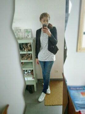 (H&M) using this リリ looks