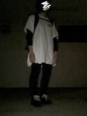 もりすさんの「RING BELT(X-girl|エックスガール)」を使ったコーディネート