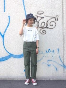 MILKFED. AT HEAVEN27 名古屋|杉本  奈々子さんの(MILKFED.|ミルクフェド)を使ったコーディネート
