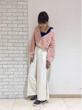 Kawasumi  Tomomiさんの「デニムビスチェ(Kastane)」を使ったコーディネート