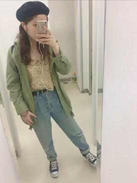 suzukaさんの(abc une face アーベーセーアンフェイス)を使ったコーディネート
