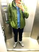 keiさんの「DOORS Color Zip Parker(URBAN RESEARCH DOORS MENS|ナイキ)」を使ったコーディネート
