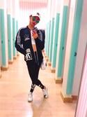 ramuさんの(adidas originals|アディダスオリジナルス)を使ったコーディネート