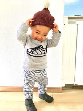 natsu_iaii___さんの(babyGAP|babyGAP)を使ったコーディネート