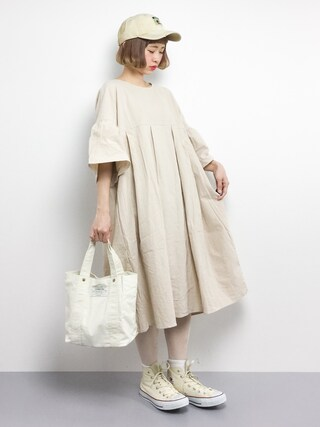 「Sonny Label ワッペンキャンバスキャップ(URBAN RESEARCH Sonny Label)」 using this ZOZOTOWN|チョコビ looks