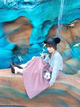 hinaさんの(Disney|ディズニー)を使ったコーディネート