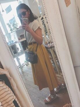 ayano さんの(natural couture|ナチュラルクチュール)を使ったコーディネート