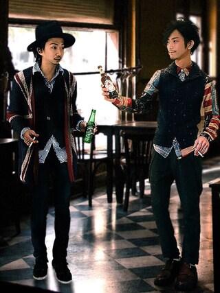 yoshiさんの「Jazz pants(glamb|グラム)」を使ったコーディネート