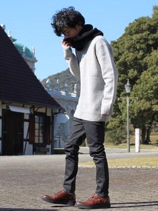 yoshiさんの「Alwyn shoes(glamb|グラム)」を使ったコーディネート