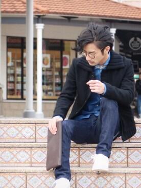 yoshiさんの(Nudie Jeans|ヌーディージーンズ)を使ったコーディネート