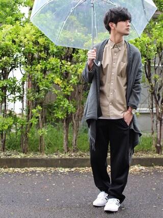 「【チャイハネ】メラルカーディガン(ユニセックス)(チャイハネ)」 using this yoshi looks