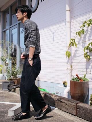 「ワイドパンツ(SEVENDAYS=SUNDAY)」 using this yoshi looks