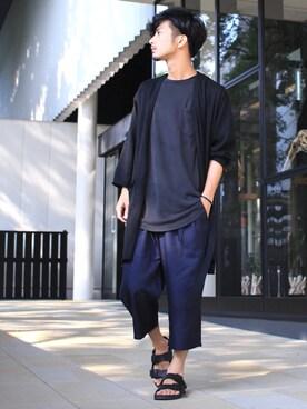 yoshiさんの「【吸水速乾】ガウチョパンツ/750295(RAGEBLUE|レイジブルー)」を使ったコーディネート