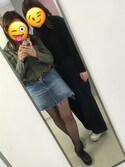 miho is wearing H&M