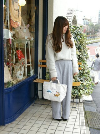 ROOTOTE GALLERY 代官山店|ROOTOTE  STAFFさんの「RT.DEL.SC.SVN-A(ROOTOTE|ルートート)」を使ったコーディネート
