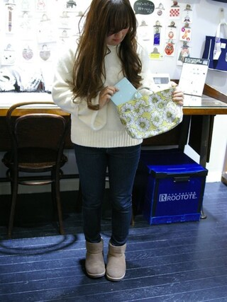 ROOTOTE GALLERY 代官山店|ROOTOTE  STAFFさんの「RC.SN.EL-P(ROOTOTE|ルートート)」を使ったコーディネート