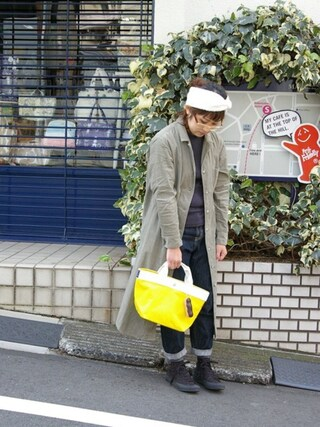 ROOTOTE GALLERY 代官山店|ROOTOTE  STAFFさんの「RT.DEL.SN.POL-D(ROOTOTE|ルートート)」を使ったコーディネート